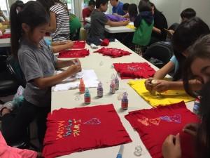 tshirt making